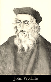 John Wycliffe on Pastor Melissa Scott